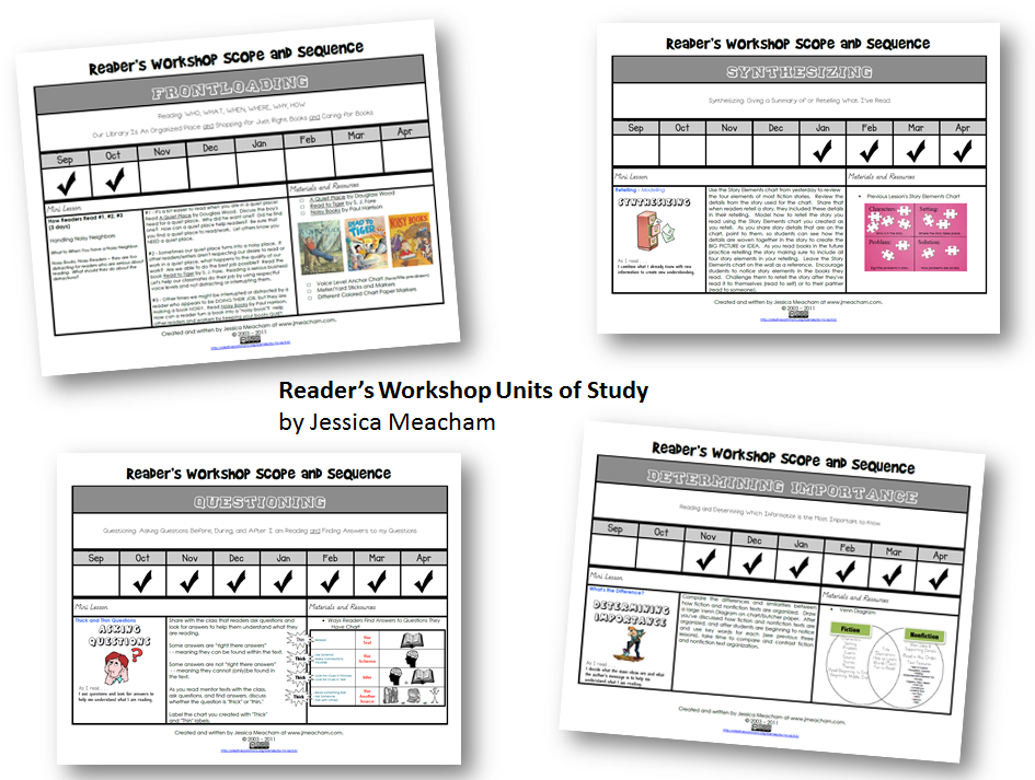 Reader's Workshop Units of Study Meacham