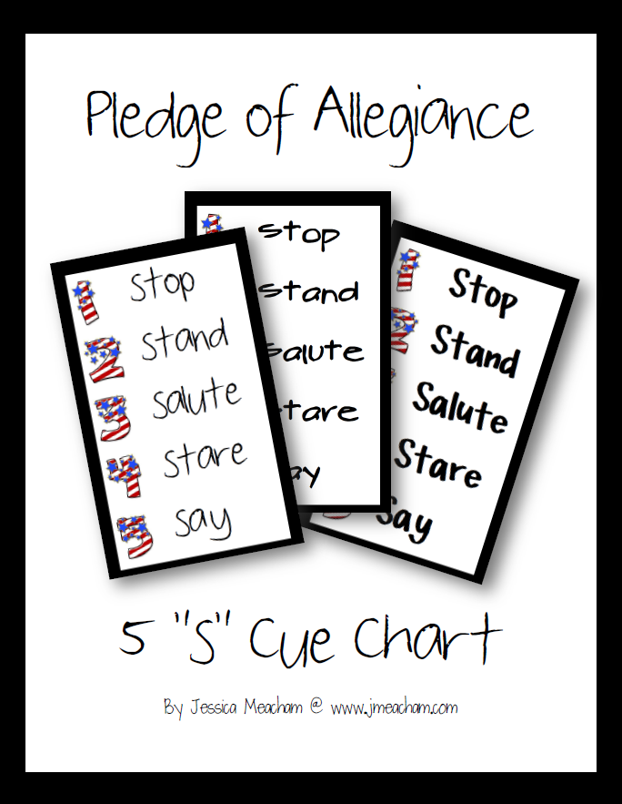 5s Pledge of Allegiance - Meacham