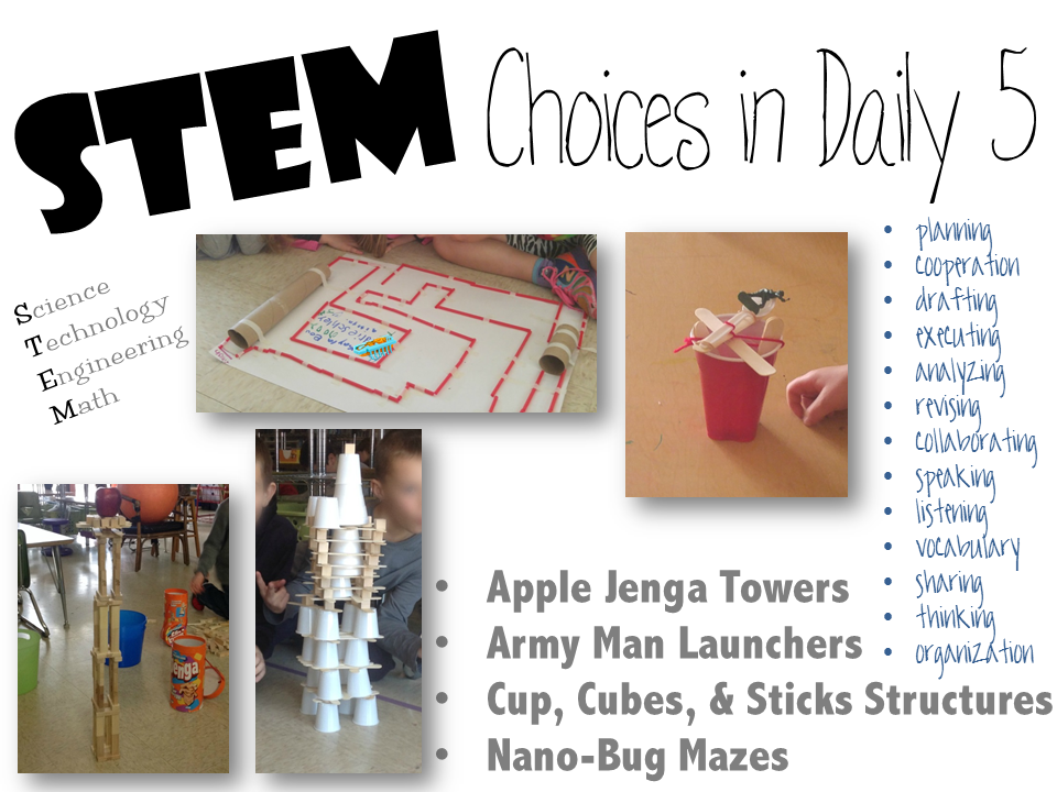 STEM in Daily 5