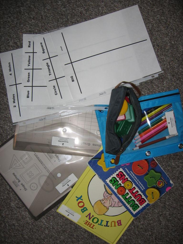 Sorting and Graphing Homework Bag