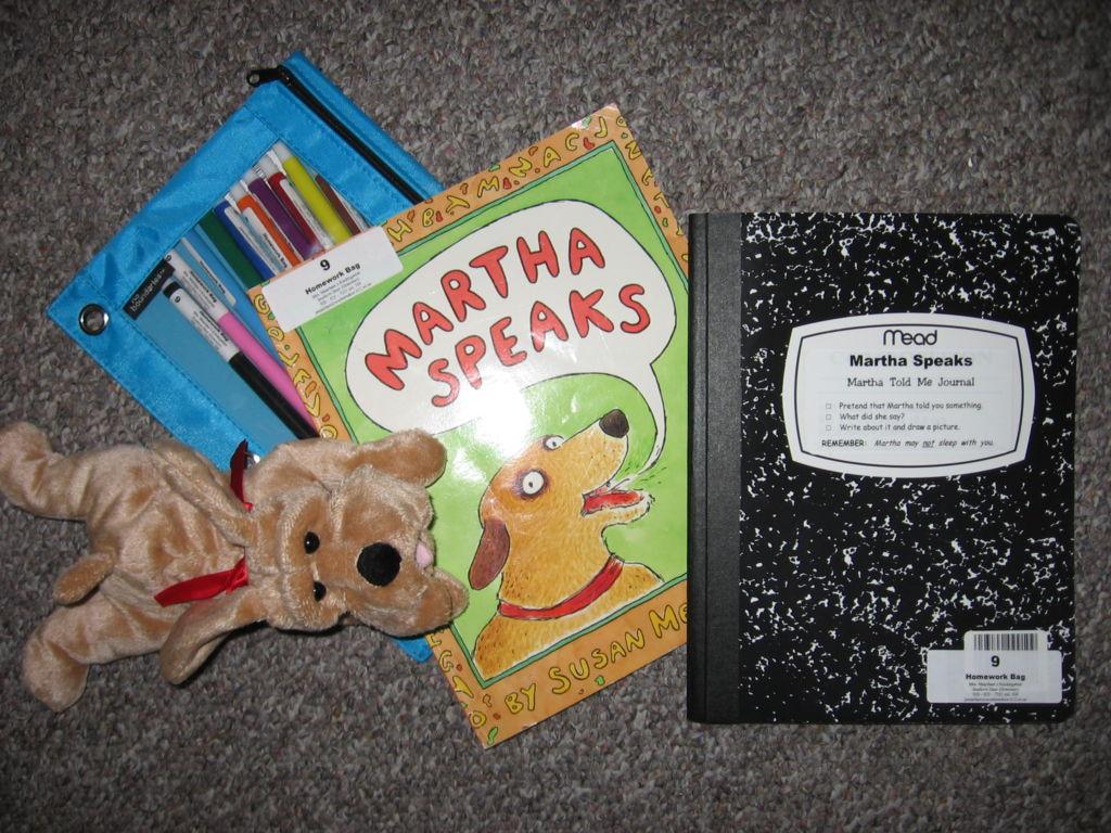 Martha Speaks Homework Bag