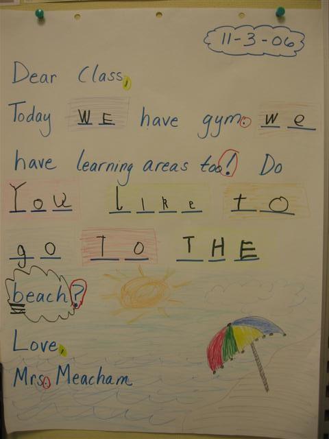 Morning Message - Meacham
